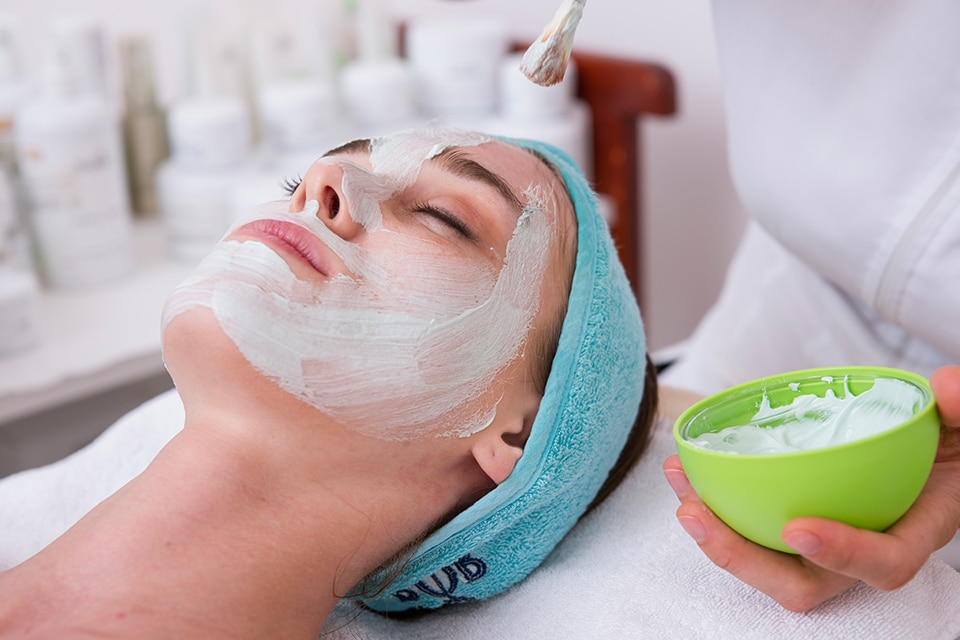 Woman with Face Mask - GlamGlow SuperMud Treatment