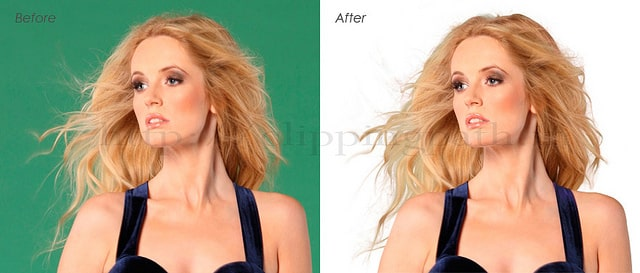 hair mask befor and after