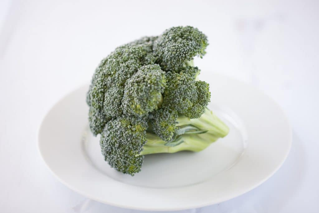broccoli is rich with vitamin c that reduces inflammation in the body